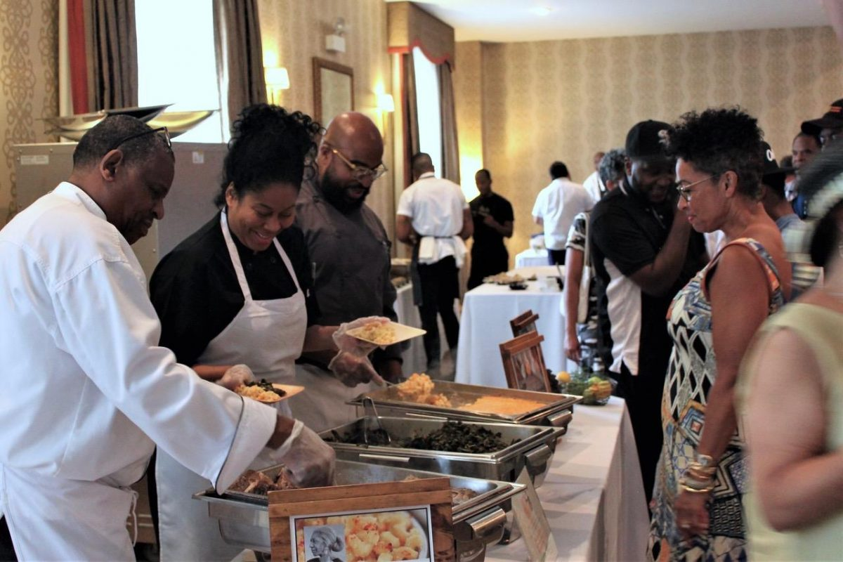 Chef Kenneth Dixon and Team in Chicago, IL
