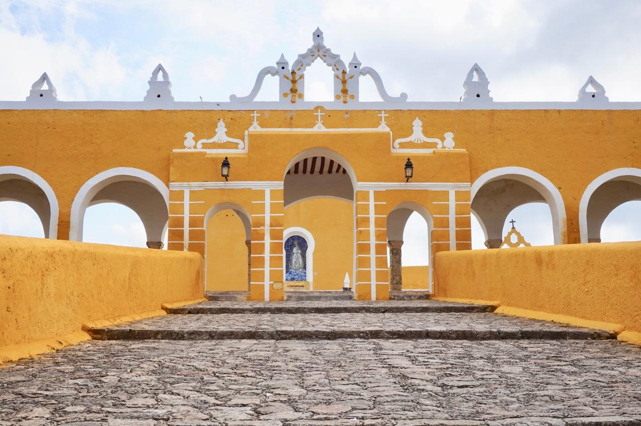 Izamal in Mexico