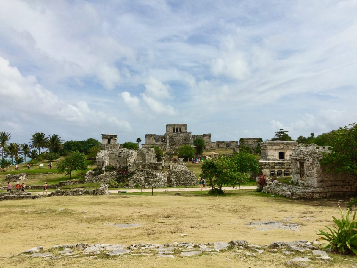 Ruins of Tulum in Mexican on the Yucatan Peninsula