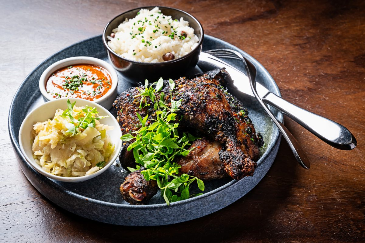 Jerk Chicken from Chef Kwame Omwuachi of Kith/Kin