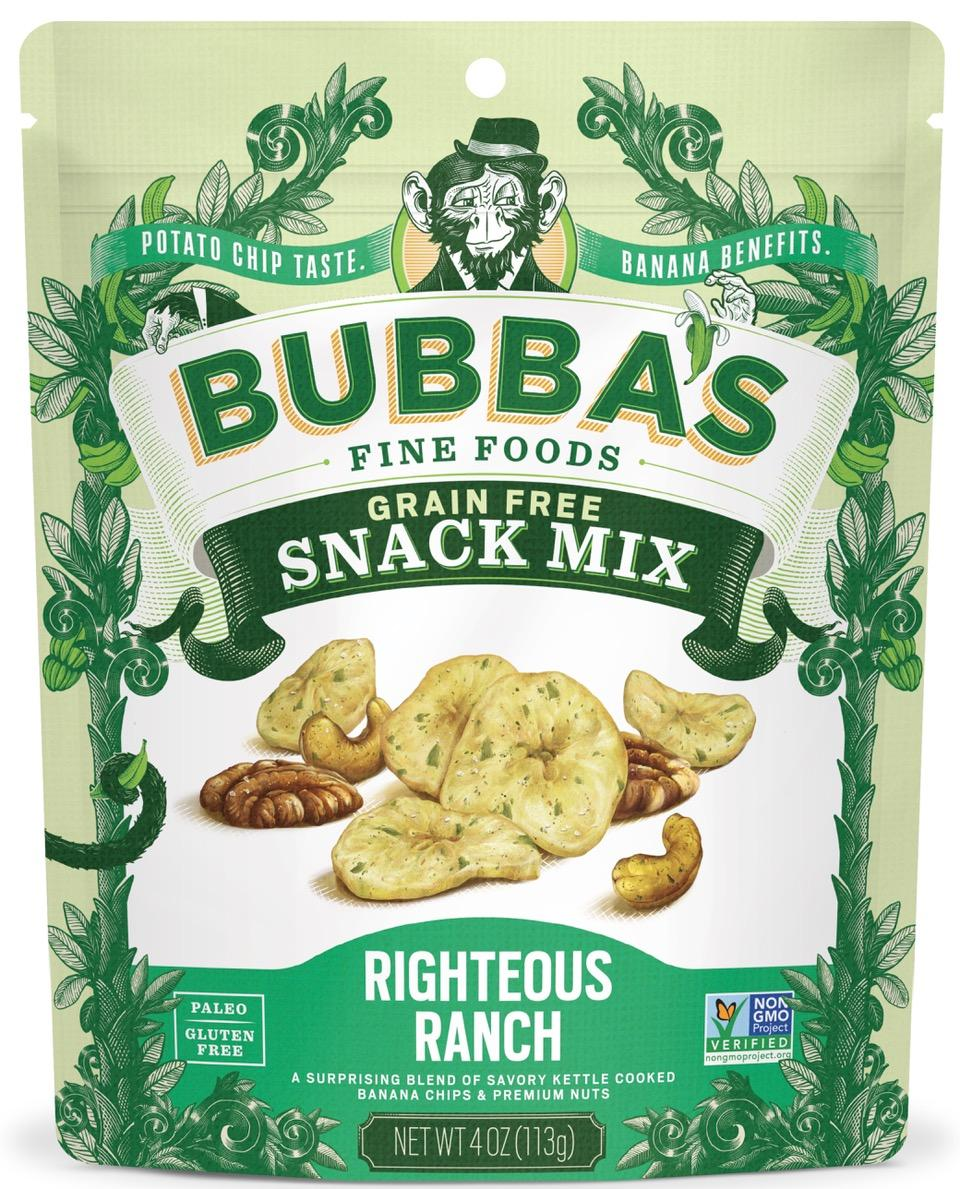Bubba's Fine Foods Righteous Ranch Snack Mix