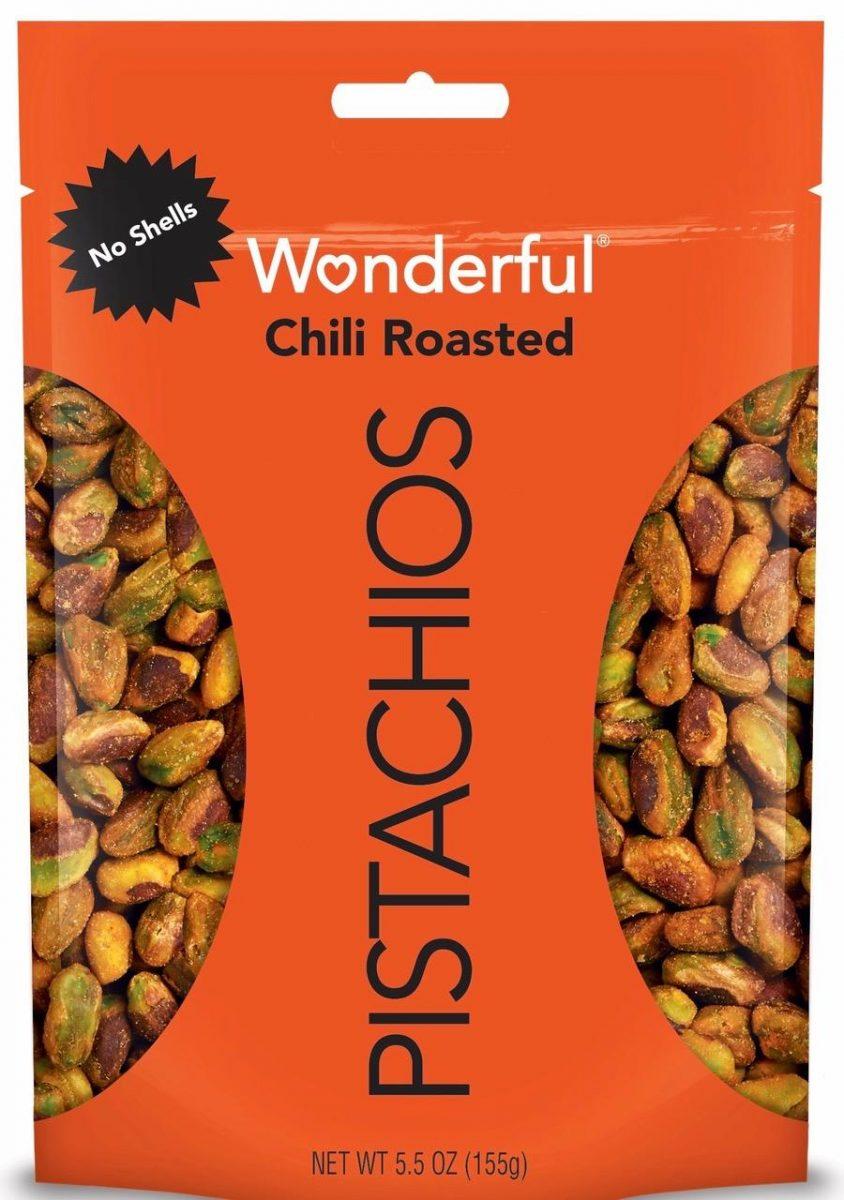 Wonderful Pistachios Chili Roasted