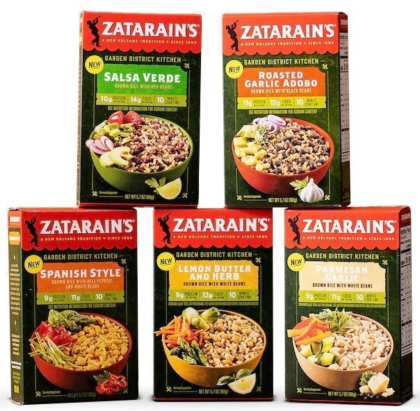 Zatarain's Garden District Kitchen Rice Mixes