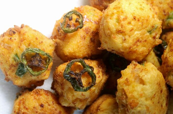 Jalapeño Cheese Hush Puppies