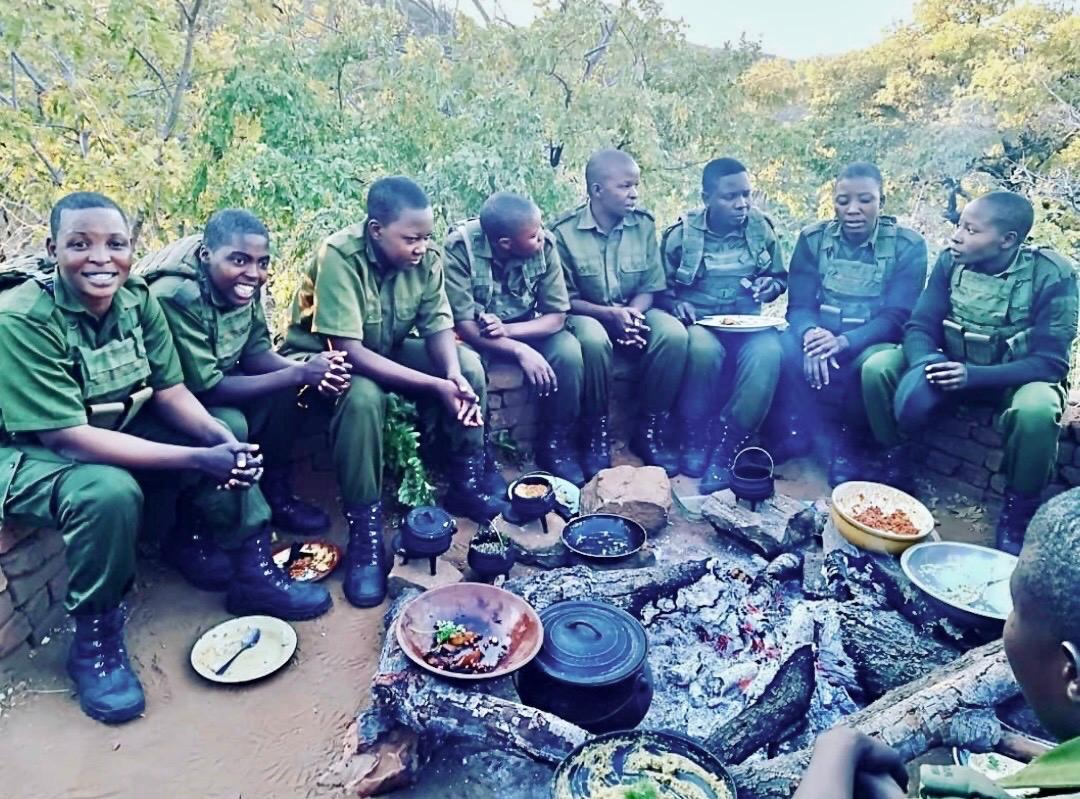 """The Akashinga (""""the brave ones""""), Africa's first Armed All-Women Anti-Poaching Unit"""