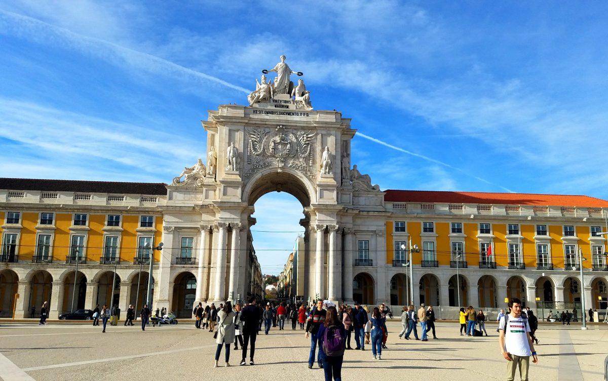 Praca do Comercio in Lisbon, Portugal
