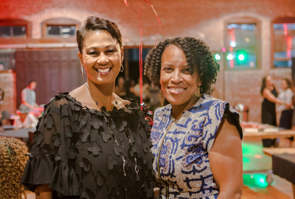 Etiquette Expert Tina Hayes and Sheree Williams