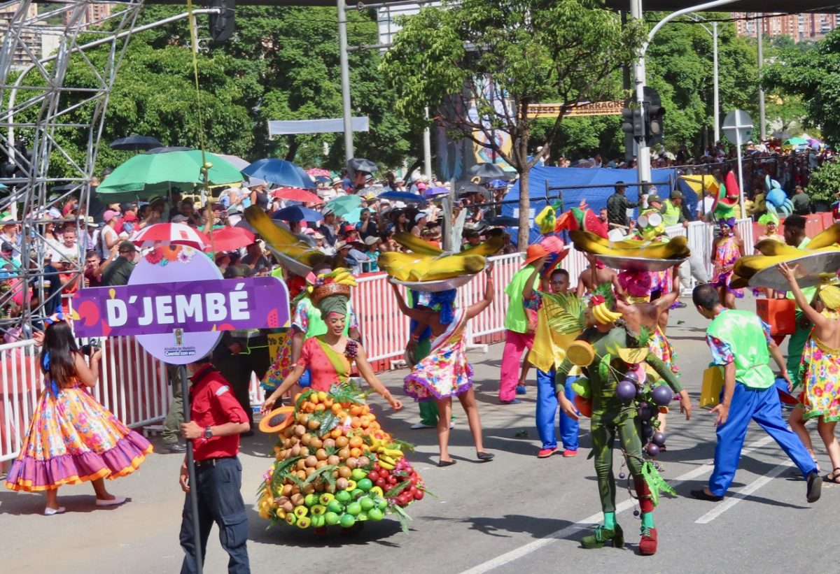 he Parade of the Silleteros  in Medellin, Colombia