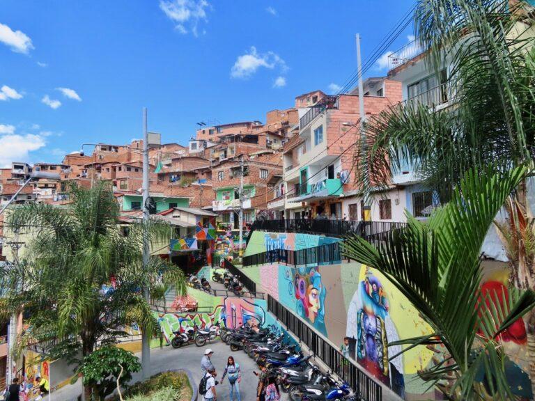 Comuna 13 in Medellín, Colombia