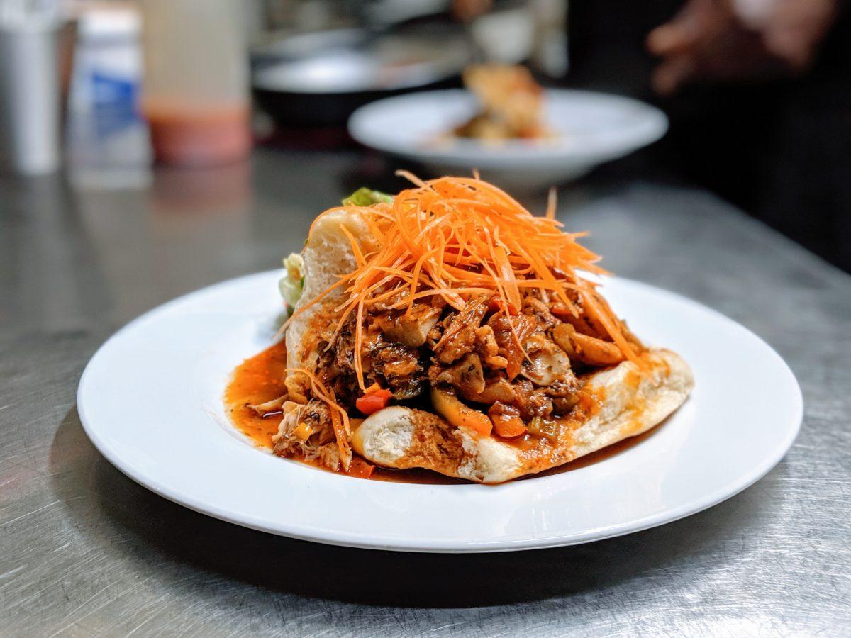Dish at RosaCaleta in Berlin, Germany