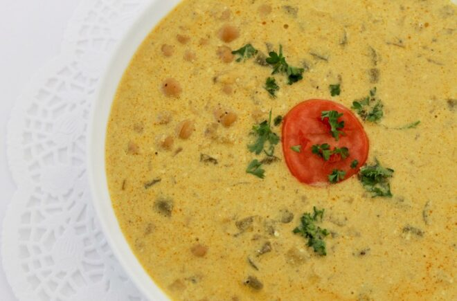 Curried Chickpea Soup