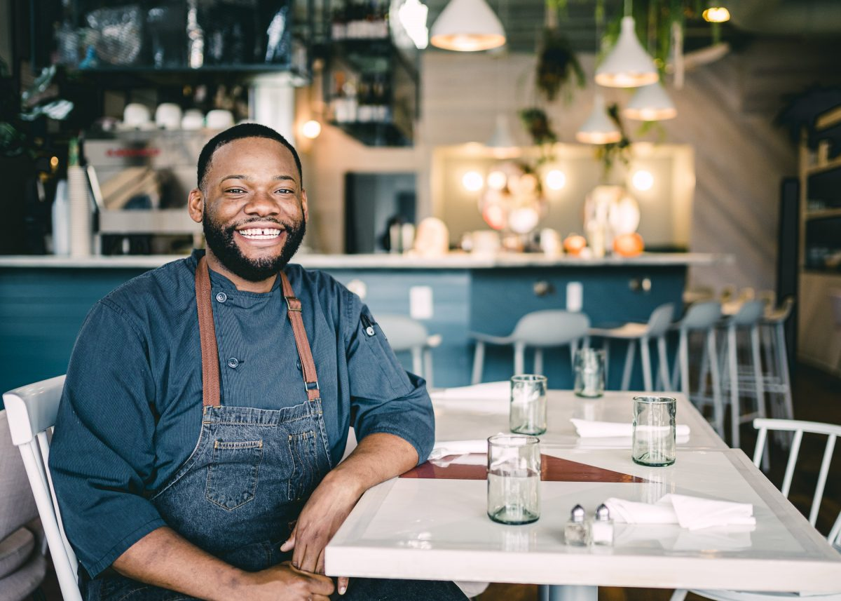 Chef Kendall Sheppard of Naive in Louisville, KY
