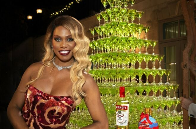 Smirnoff And Laverne Cox Deck The Halls With Cocktails and Mischief in New Holiday Campaign