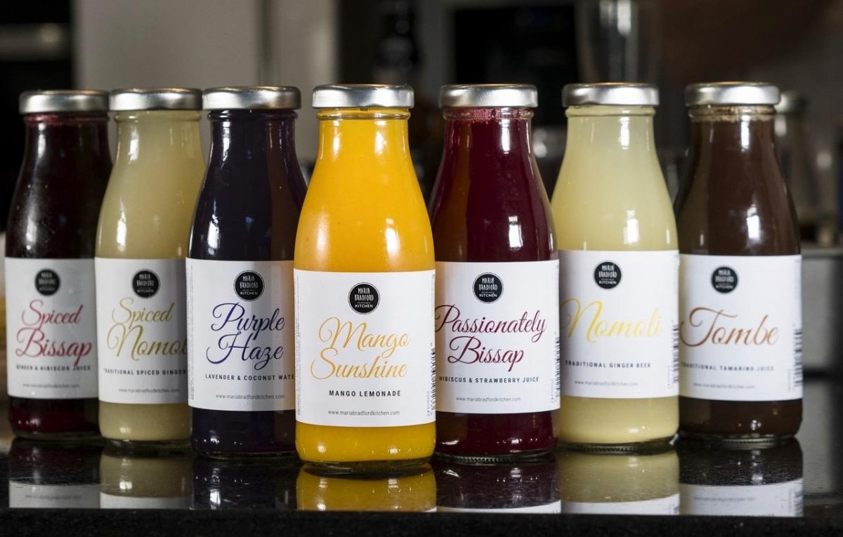 Juices from Maria Bradford Kitchen