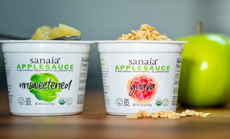 Unsweetened and Guava Applesauce by Sanaía