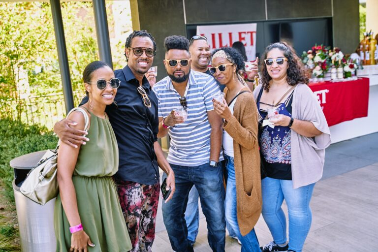 The TASTE 2019 in Costa Mesa event attendees