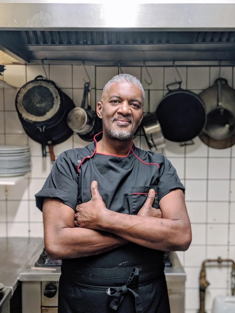Chef Troy Lopez of RosaCaleta in Berlin, Germany