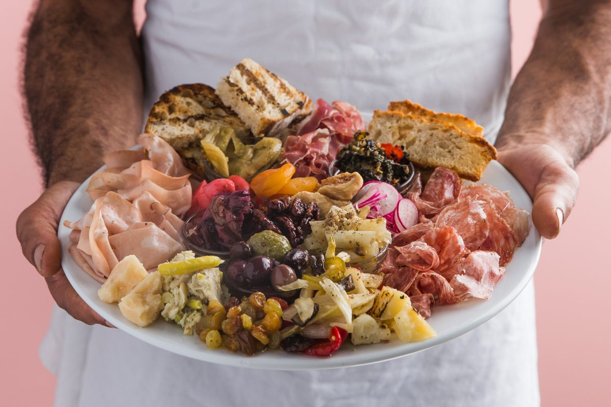 Piatto di Antipasto by Chef Douglass Williams of MIDA Boston