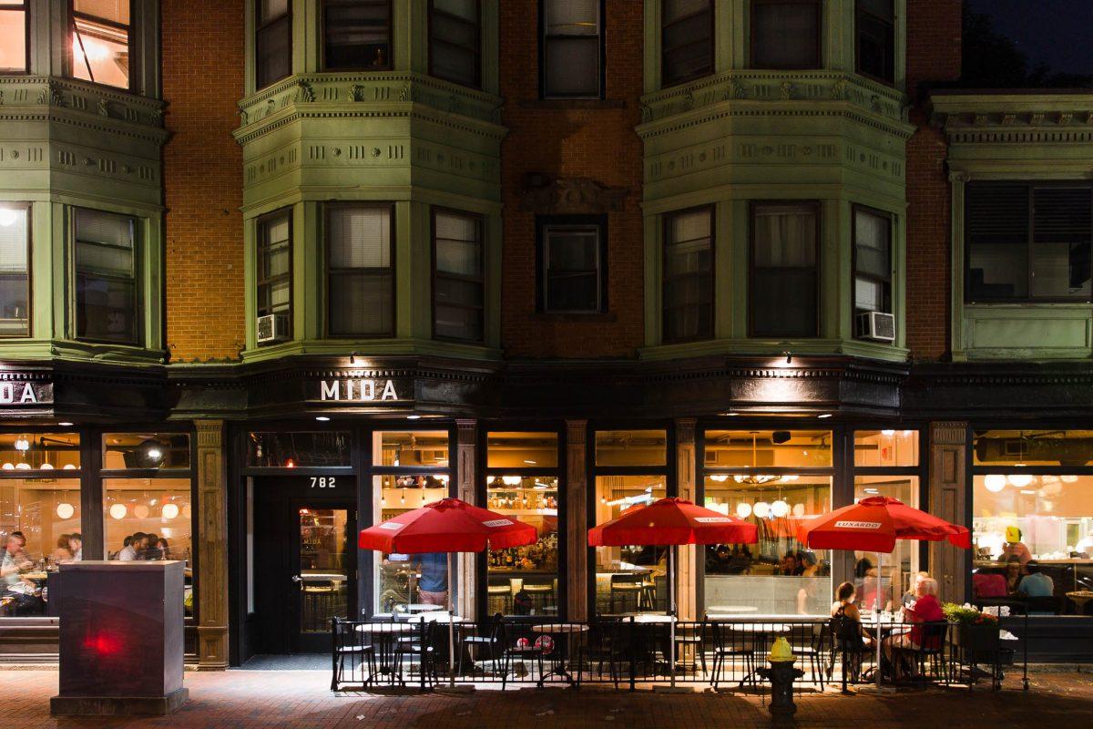 Exterior of MIDA Boston