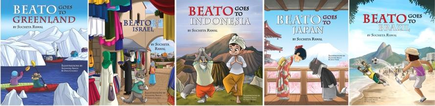Beato Goes To Book Series by Sucheta Rawal