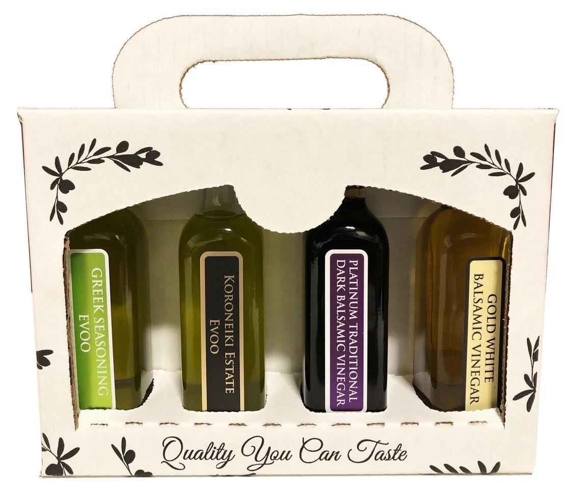 Laconiko Olive Oil and Balsamic Gift Set