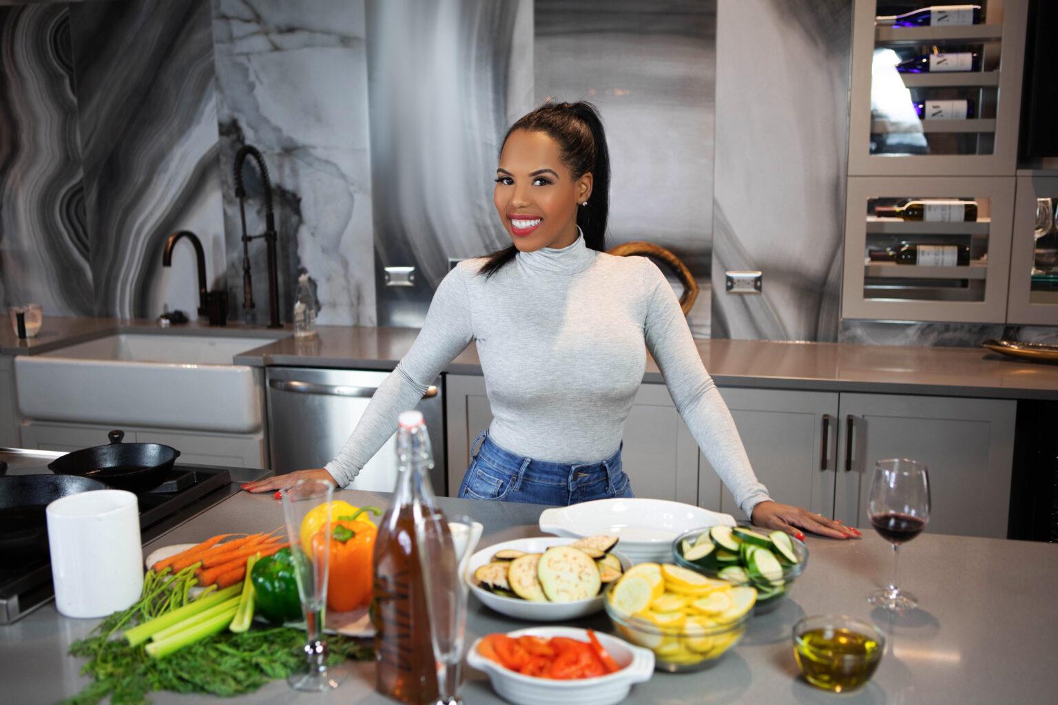 Kelli Ferrell of Nana's Chicken-N-Waffles