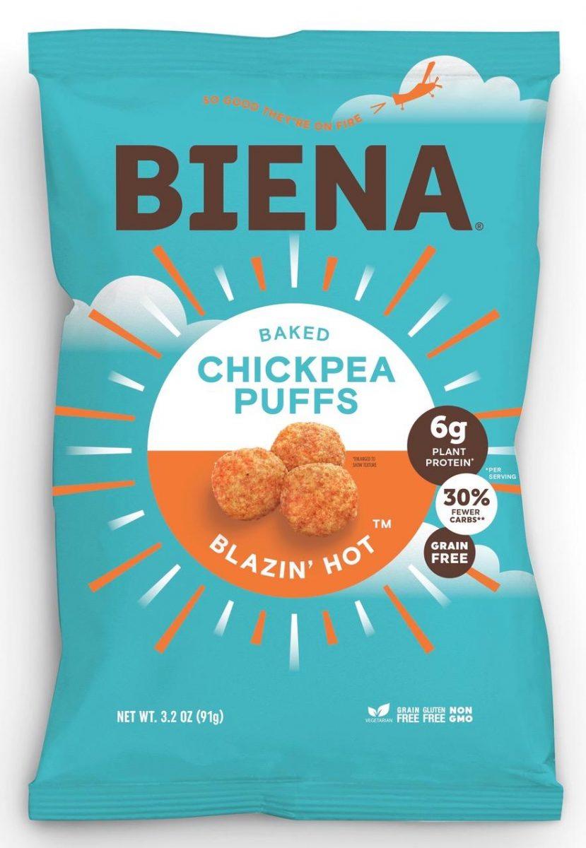 Biena Snacks Blazin' Hot Puffs