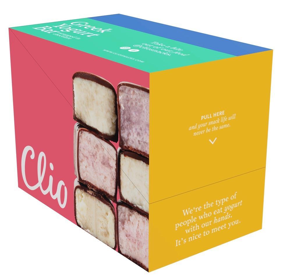 Clio Snacks Greek Yogurt Mixed Flavor Pack