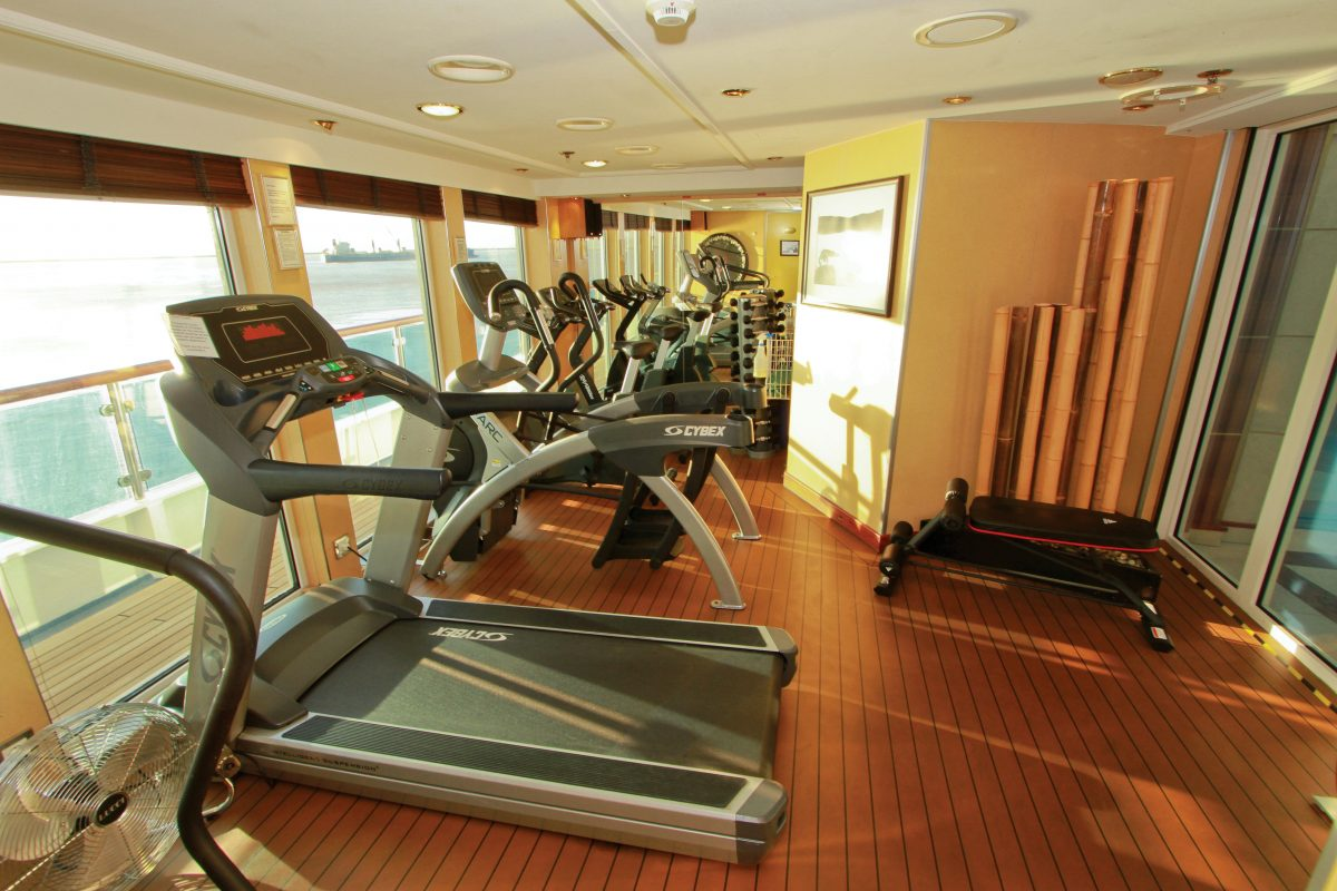 National Geographic Orion On Board Gym