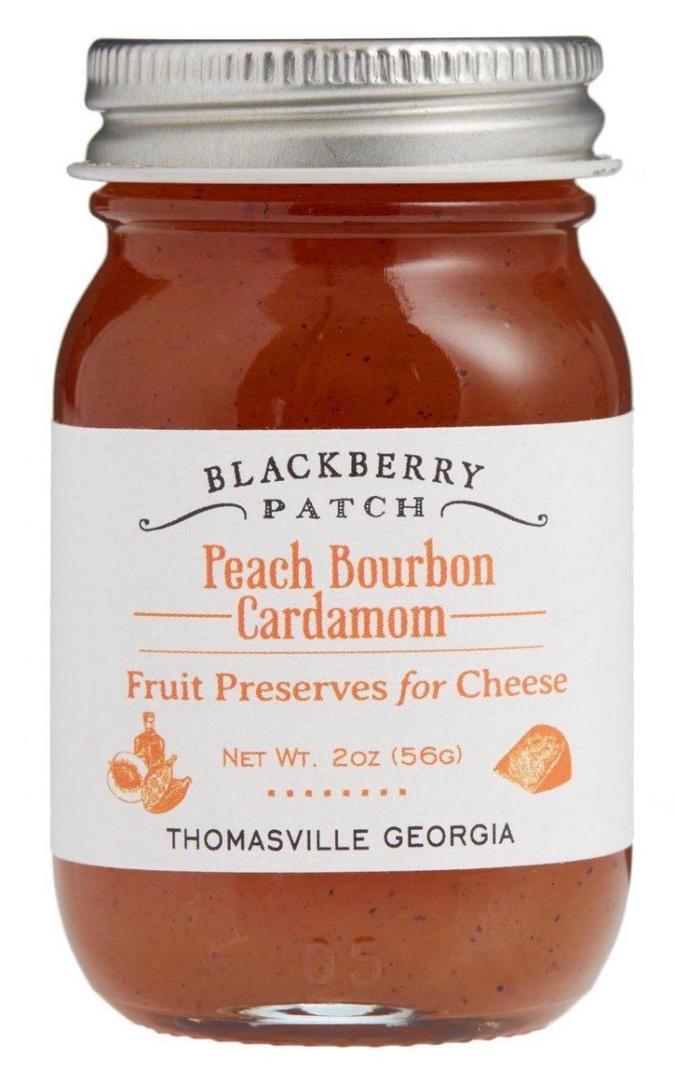 Blackberry Patch Peach Bourbon Cardamom Preserves