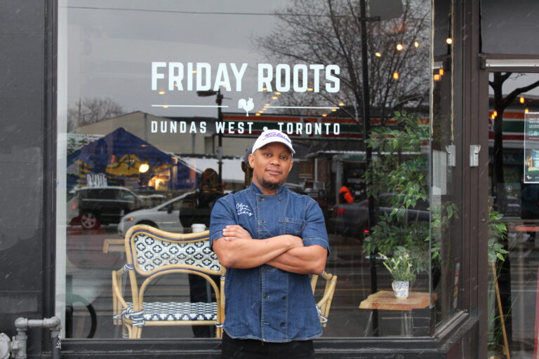 Joe Friday of Friday Roots in Toronto