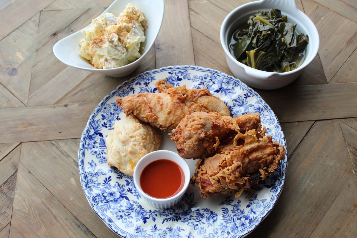 Southern Fried Chicken Meal at Friday Roots in Toronto