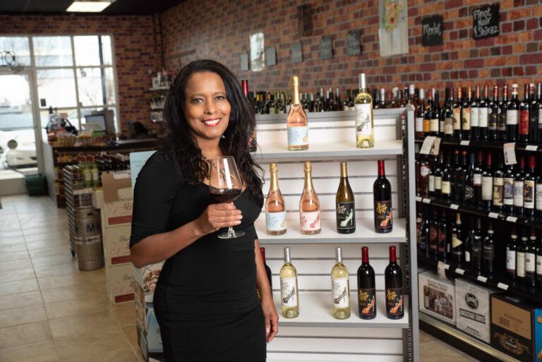 Gwen Hurt, founder of Shoe Crazy Wine