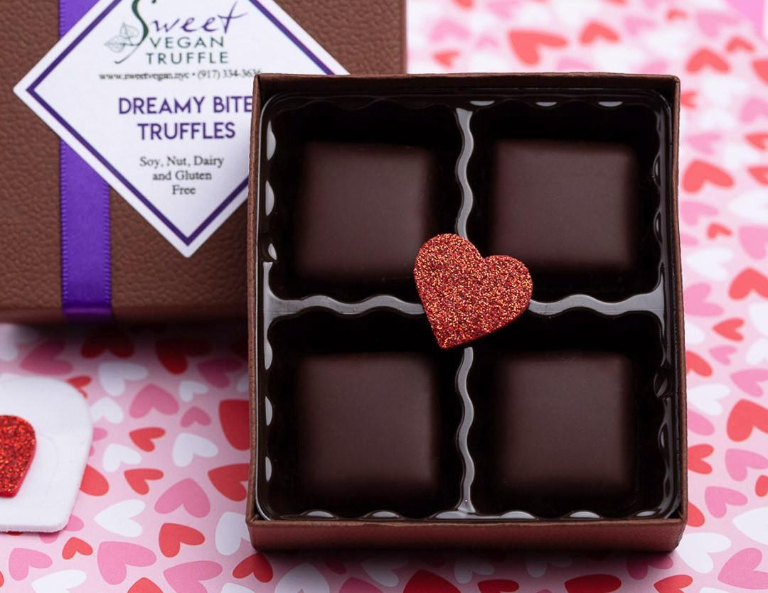 Sweet Vegan Dreamy Bites Truffles
