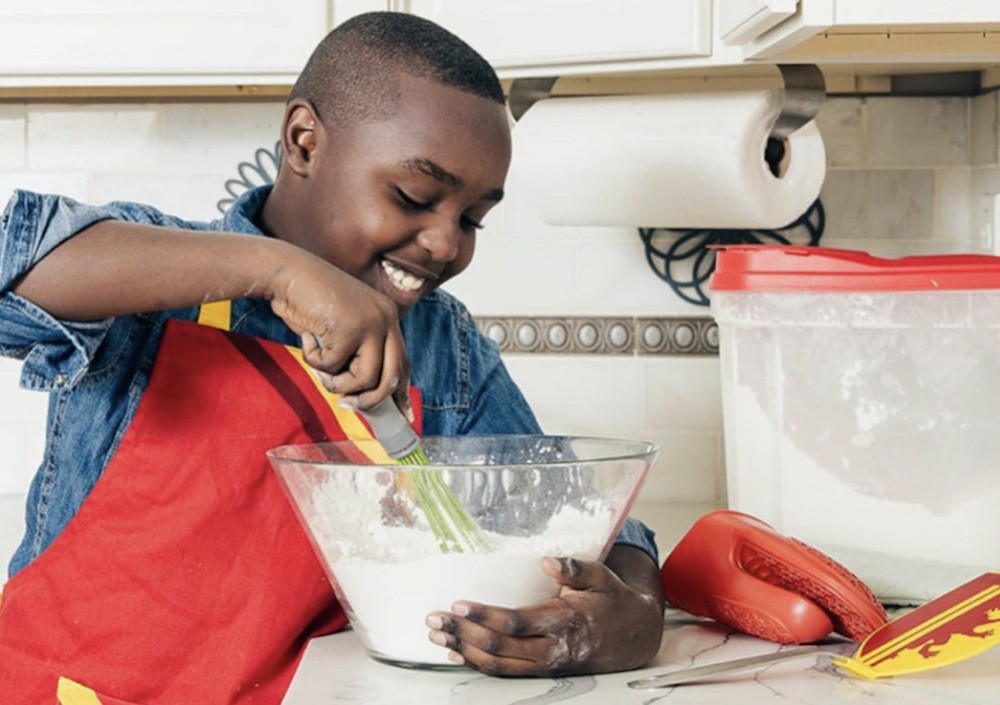 Aspiring pastry chef Jordan Legend