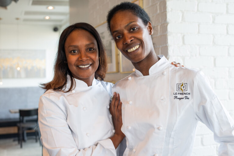 Sengalese Sisters Aminata and Rougui Dia of Le French Bakery & Cafe in Denver