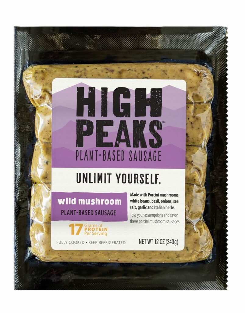 High Peaks Launches New Plant-Based Sausage Options