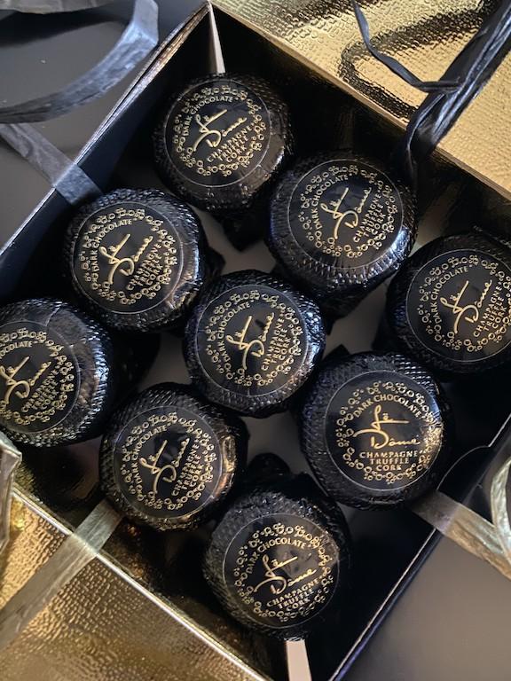 Le Dome Celebration Champagne Truffles
