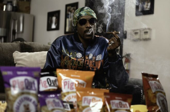 Entertainment Icon Snoop Dogg Invests In Better-For-You Munchies