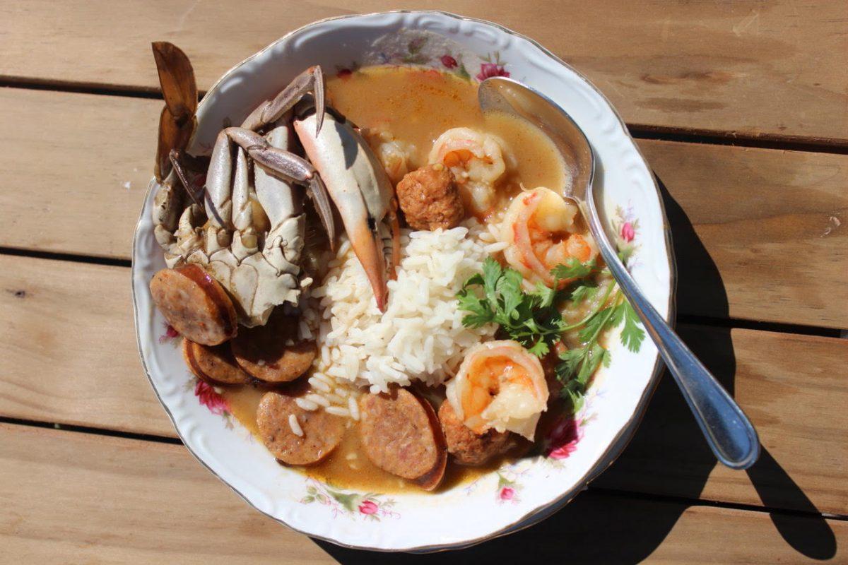 Seafood Gumbo by Chef Toya Boudy