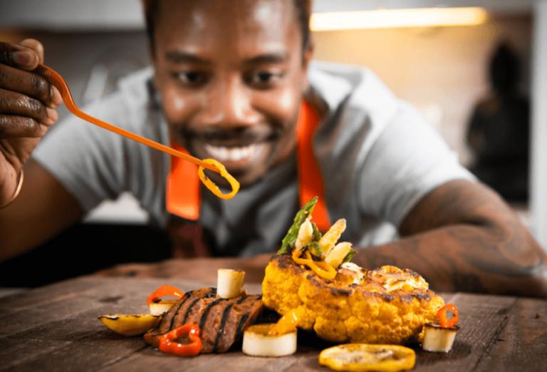 Vegan Chef Ed Harris