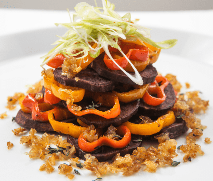 Korean Sweet Potato Hash by Chef Ed Harris
