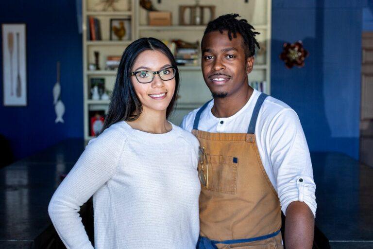 Jonny and Chana Rhodes in Houston