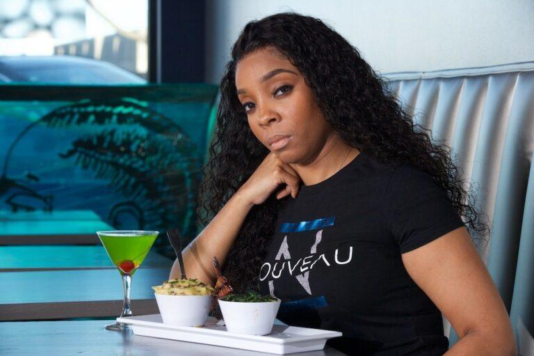 Entrepreneur Eboni Austin of Nouveau Bar and Grill