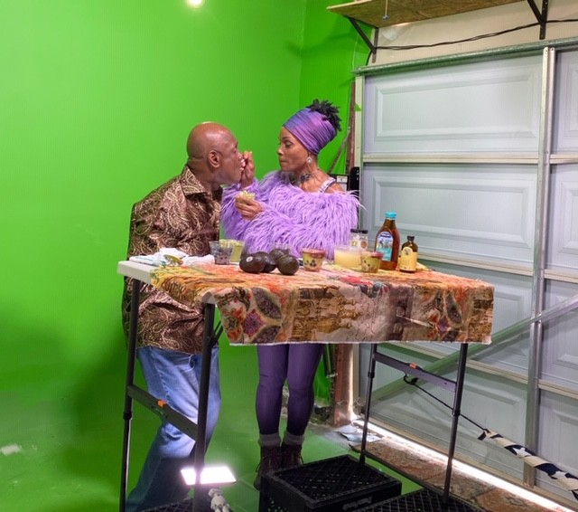 Michael Colyar and Chef Babette Davis of Stuff I Eat
