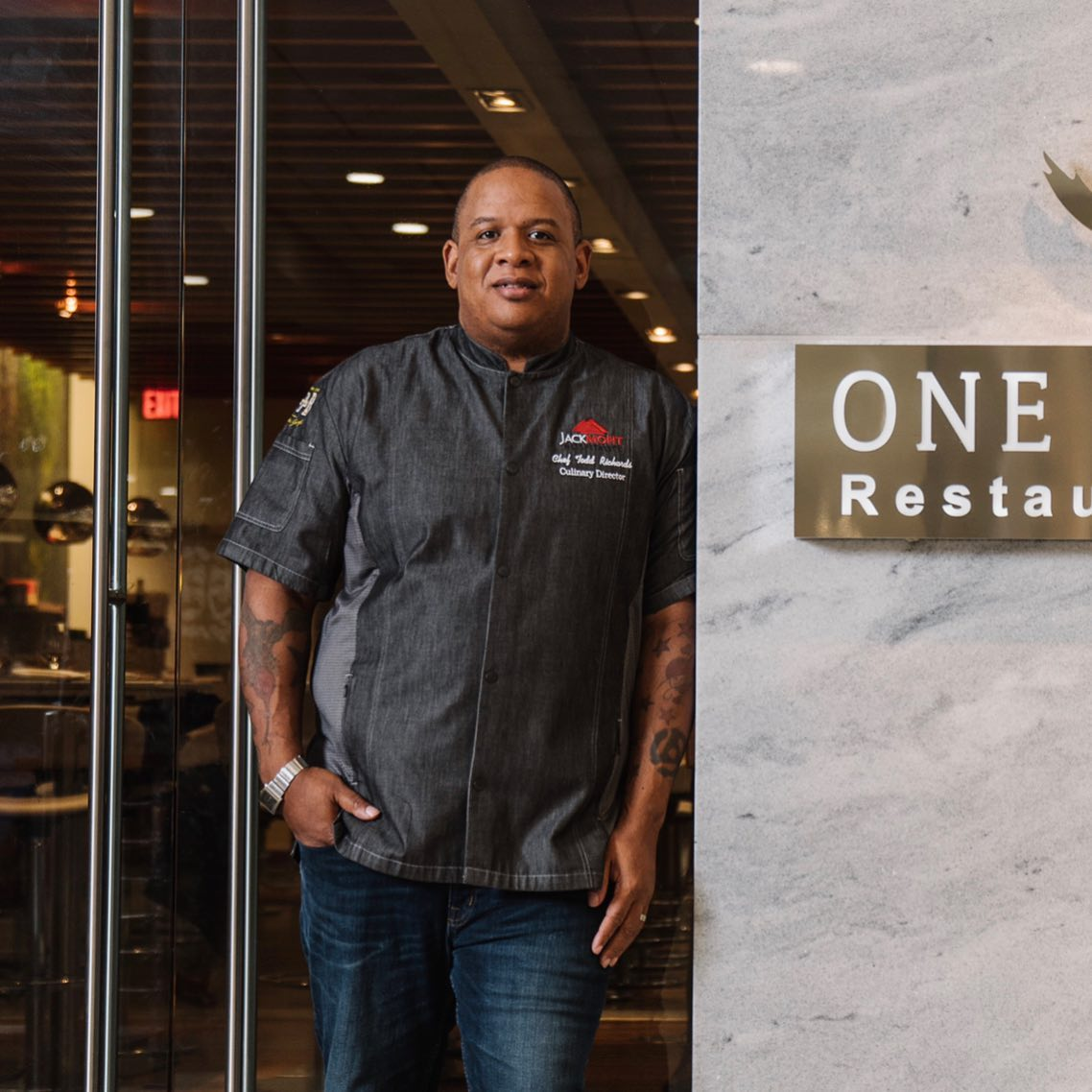 Chef Todd Richards of One Flew South and Chicken + Beer