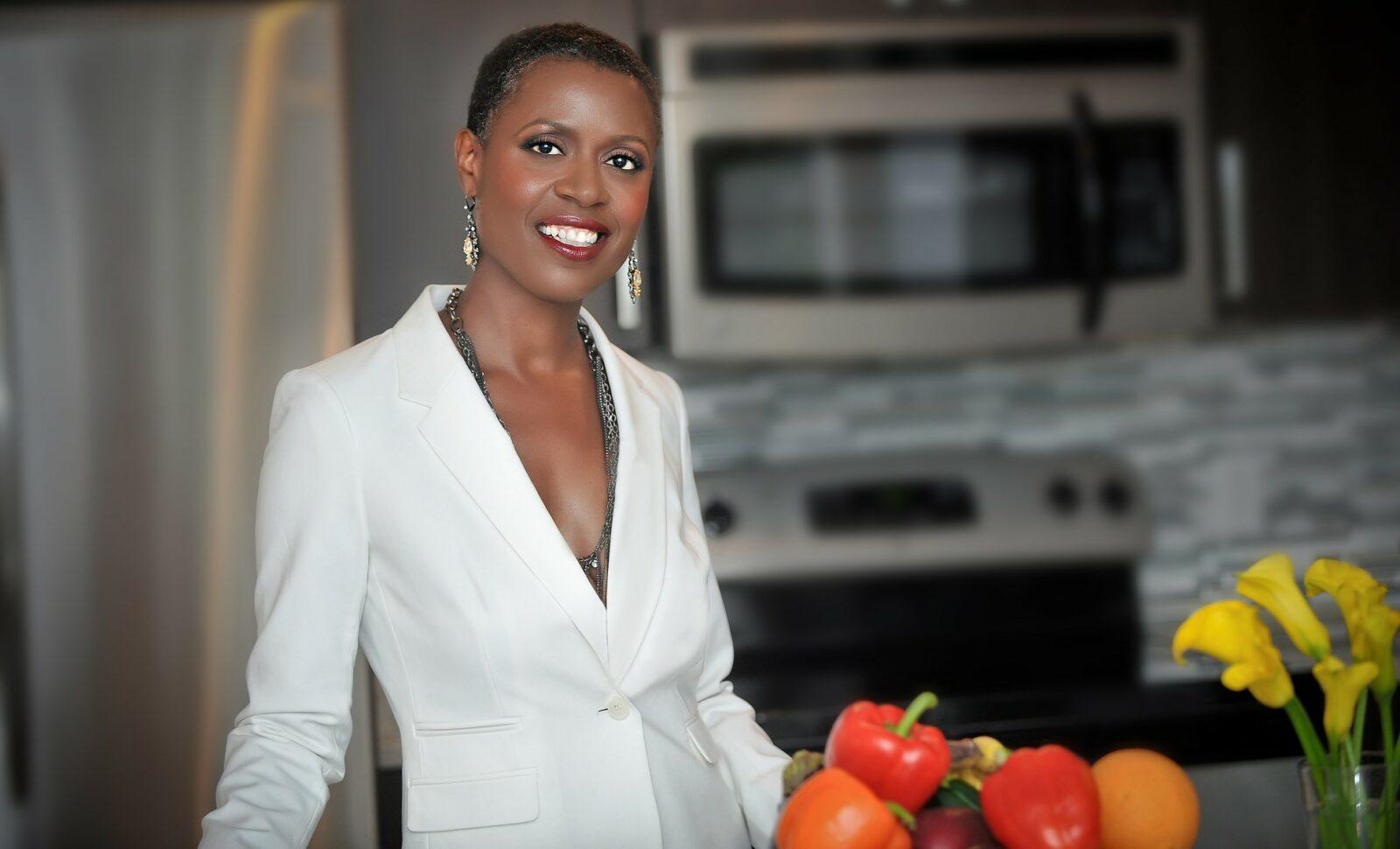 Vegan advocate Tracye McQuirter