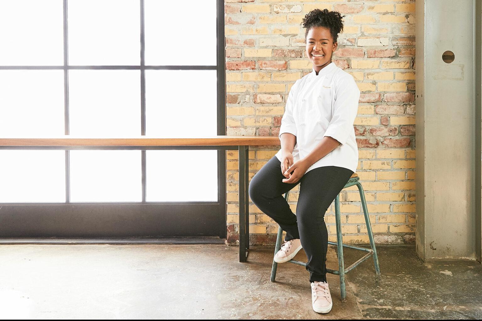 Oakland Junior Chef Rahanna Bisseret Martinez
