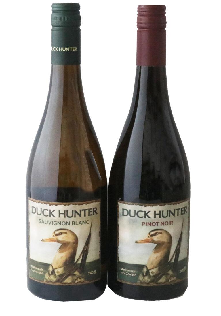 Duck Hunter Wines, Sauignon Blanc and Pinot Noir