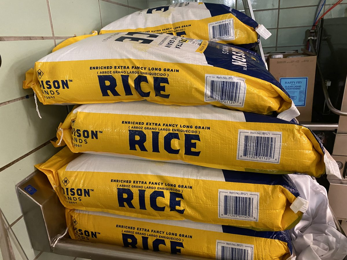 Bag of rice for Too Many Cooks in the Kitchen For Good